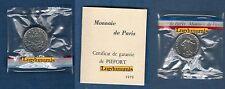 Piéfort - 50 Centimes Semeuse 1979 RARE 300 Exemplaires FDC Euro PIEFORT