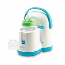 NEW The First Years Night Cravings Bottle Warmer & Cooler Blue White