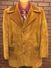 Vintage Country Coat Sears Mens Store Brown Corduroy Men'S 40 Reg