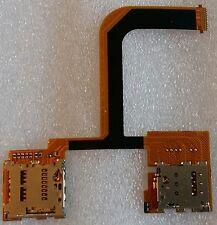 SIM SD Lettore Di Schede Lettore Schede Card Reader lecteur Cavo Flex HTC ONE MINI 2 m5