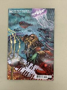 Dark Nights Death Metal #5 1:25 Mahnke Variant DC Comics 2020 Aquaman King Robin