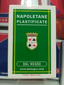 dal negro carte napoletane 81 plastifcate triplex vecchia produzione introvabili