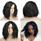 Short Wavy Bob Human Hair Full Lace Wig Glueless Lace Front Wigs Black Women