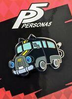 Persona 5 Royal Strikers Cat Bus Morgana Mona Enamel Pin Figure P5 P5R P5S