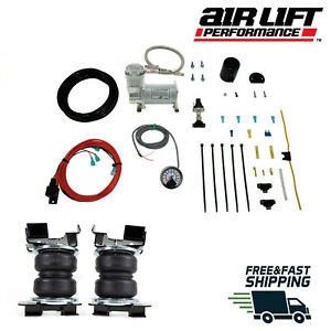 Air Lift Load Lifter 5000 Ultimate Bags With Load Contoller 2015-2020 Ford F150