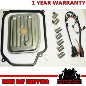 Transmission Wiring Harness Solenoid Kit Filter Gasket set VW Jetta Golf Beetle