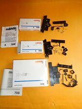 3x Märklin H0 7548 Unterflur-Zurüstsatz für K- Gleis für 3 Weichen