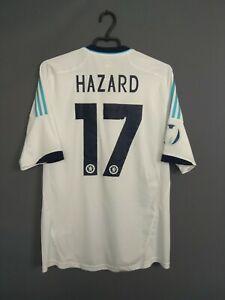Hazard Chelsea Jersey 2012 2013 Away LARGE Shirt Soccer Adidas X24266 ig93