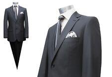 Herren Anzug Tailiert Muga Gr.48 Anthrazit