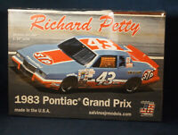 Salvinos JR Models Richard Petty 1983 Pontiac Grand Prix 1:24 Sealed Model Kit