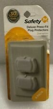 Safety 1st Deluxe Press-Fit Plug Protectors 8-Pack