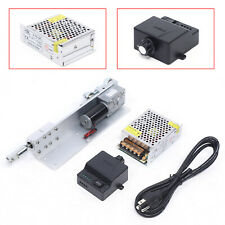 Reciprocating Linear Actuator Diy Motor Speed Controller Power Supply Kit 80rpm