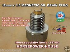 US Made 12mm MAGNETIC OIL DRAIN PLUG Ering Scooter Smart Rider Sprint Tanco 25 +