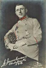 Max Immelmann Fliegerass WK1 Original Autograph Unterschrift TOP Rarität