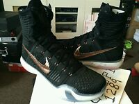 nike kobe 10 elite black/white/lava