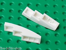LEGO  white slope bricks ref 61678 / Set 8019 5893 7636 10198 7754 8088 6753 ...