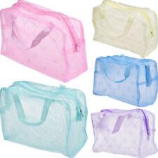 Transparent Waterproof Cosmetic Bag Toiletry Bags Skin Care Makeup Bag Organizer