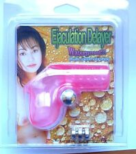 EJACULATION DELAYER VIBRATOR ~  SEX TOY - Cock Masturabtor w/ Batteries