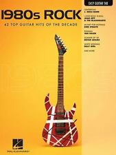 1980s Rock: Easy Guitar with Notes & Tab, Hal Leonard Corp., Good Book