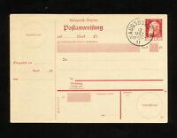 (YYAP 074) Germany Bayern 1911 postcard Augsburg 2 cancellation