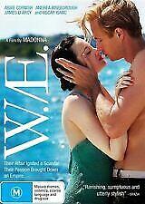 W.E. ( Abbie Cornish, James D'Arcy, Andrea Riseborough ) NEW DVD