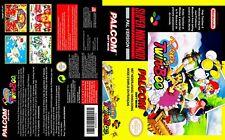 POPN TWINBEE Twin Bee Super Nintendo -  Palcom/Konami