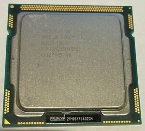 Intel Core™ i7-870 Processor 8M Cache, 2.93 GHz - CPU ONLY LGA1156