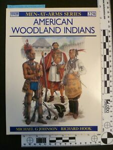 American Woodland Indians, Men-at-Arms Series #228, FREE SHIPPING