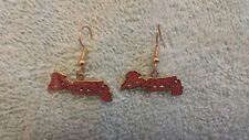 atlanta braves earrings official MLB licensed by Peter David Tomohawk Dangle