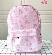 "my melody pink 17"" backpack shoulder bag laptop school bags zip gifts gift"