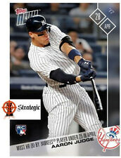Aaron Judge 2017 Topps Now 91 - Most HR Yankees Player Under 25 In April Rookie
