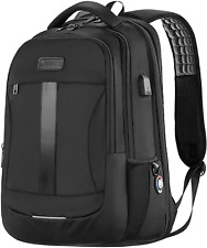 Laptop Backpack Anti Theft Business Travel Work Computer Rucksack USB Charging