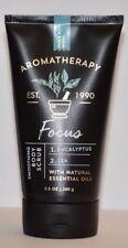 1 Bath & Body Works Aromatherapy Focus Eucalyptus & Tea Body Scrub 9.5 oz