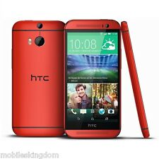 "5"" Original HTC One M8 4G Smartphone 16GB QuadCore Android Unlocked Grade A+ Red"
