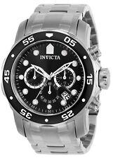 Invicta мужские часы Pro Diver черный циферблат Chrono из нержавеющей стали браслет 0069