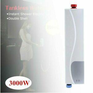Mini Elektro Warmwasserbereiter Sofort Heizung Badezimmer Durchlauferhitzer SE