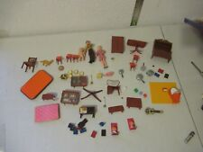 vintage Lundby & Others doll house furniture dolls accessories 1970s