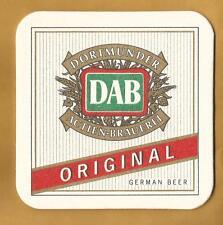 15 DAB Dortmunder Original Beer Coasters /  Mats