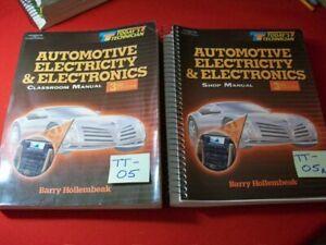 TODAY'S TECHNICIAN SERIES EDUCATIONAL PROGRAM-AUTO ELECTRICITY & ELECTRONICS SET