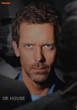 DR. HOUSE - A4 Poster (ca. 21 x 28 cm) - Hugh Laurie Clippings Fan Sammlung NEU