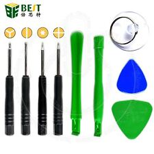 BEST Mobile Phone Opening Tool Kit Screwdriver 9 in 1 set for iPhone 7, 8, X