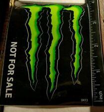 "Monster Energy Sticker|4""x3""|BRAND NEW|WORLDWIDE SHIPPING|TRUSTED USA SELLER"