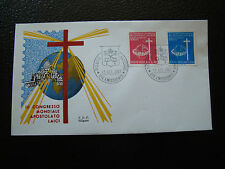 VATICAN - enveloppe 1er jour 13/10/1967 (cy32) (A)