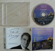 CD MAXI SINGLE 3 TITRES PLACIDO DOMINGO & TOSCA LA MARSEILLAISE