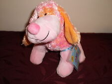 Webkinz Pink Punch Cheeky Dog With New Attached Unopened Tag
