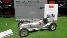 MERCEDES BENZ W125 de 1937 BRAUCHITSCH #3 GP Donington 1/18 CMC M-115 voiture