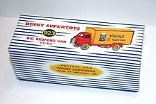 Dinky Toys 923 Big Bedford Van Heinz Beans (Reproduction Box ) Repro