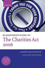 Blackstone's Guide to the Charities Act 2006-ExLibrary