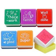 6 pcs teacher reward stamps self inking christmas thank you teacher gift Present