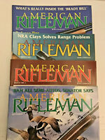 American Rifleman Magazine Lot - 4 issues - Guns Hunting Handguns Accessories